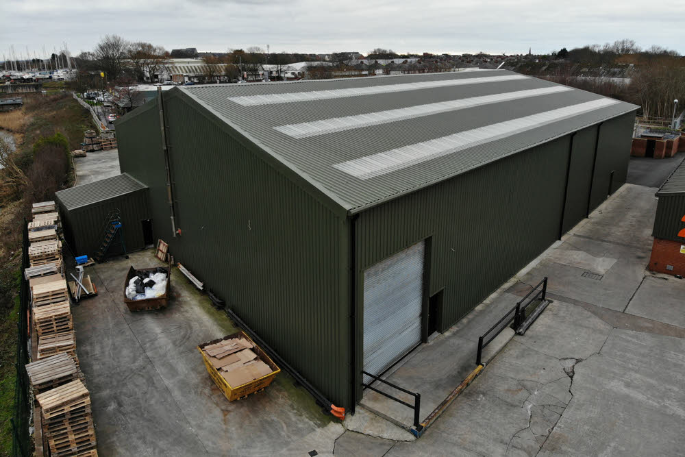 Industrial Building Contractor North West Manchester Lancashire